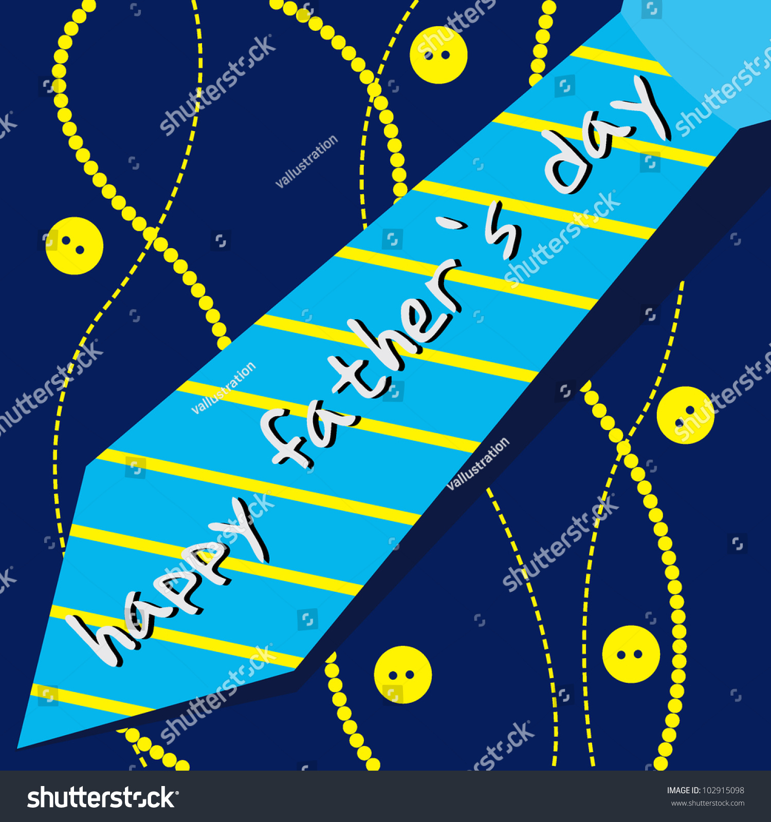 Fathers Day Card Greeting Card Occasions Stock Vector 102915098