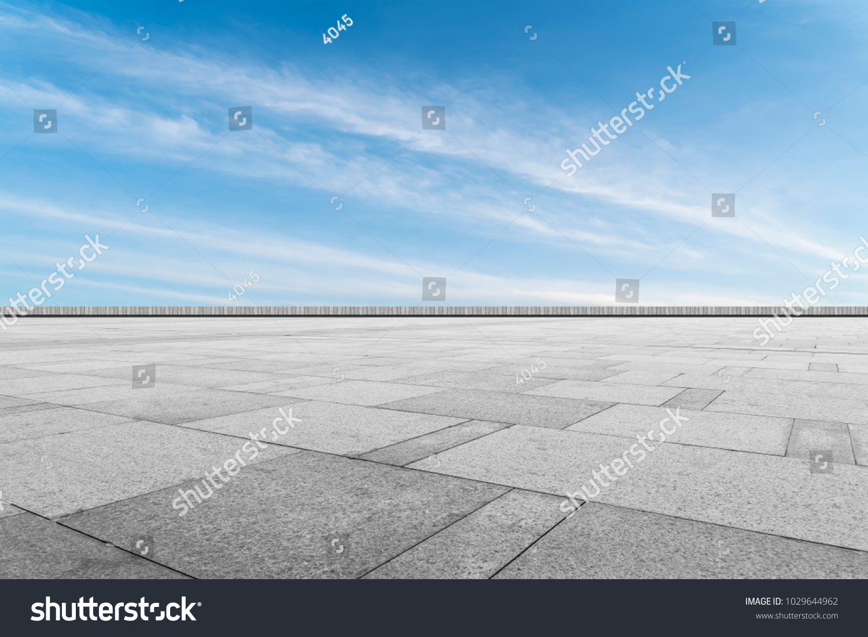 Asphalt Pavements Square Floor Tiles Under Stock Photo (Royalty Free ...