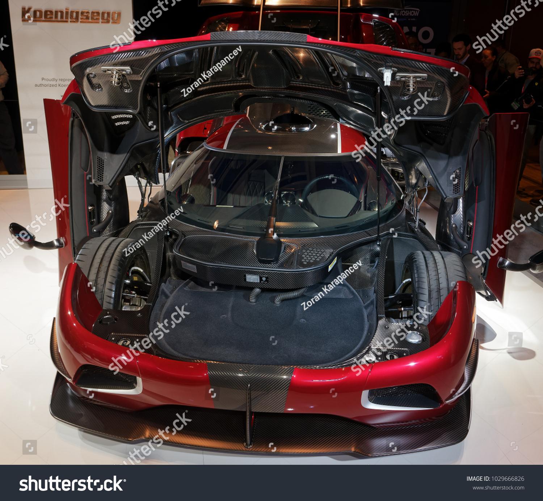 TORONTOFEBRUARY 15 2018 Canadian International Auto Show Stock Photo