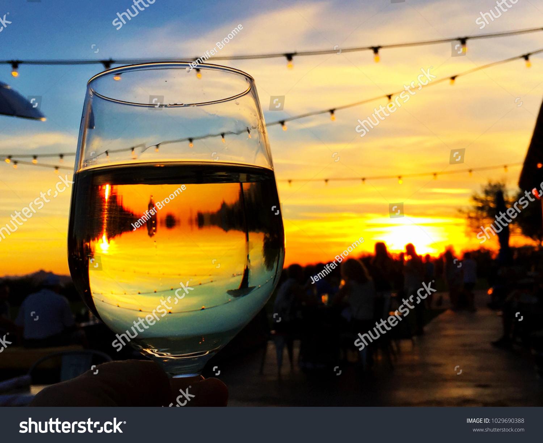Happy Hour Sunset Scottsdale Arizona Taken Stock Photo Edit Now 1029690388