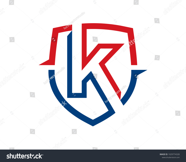 Letter K Logo Template Design Vector Stock Vector Royalty Free