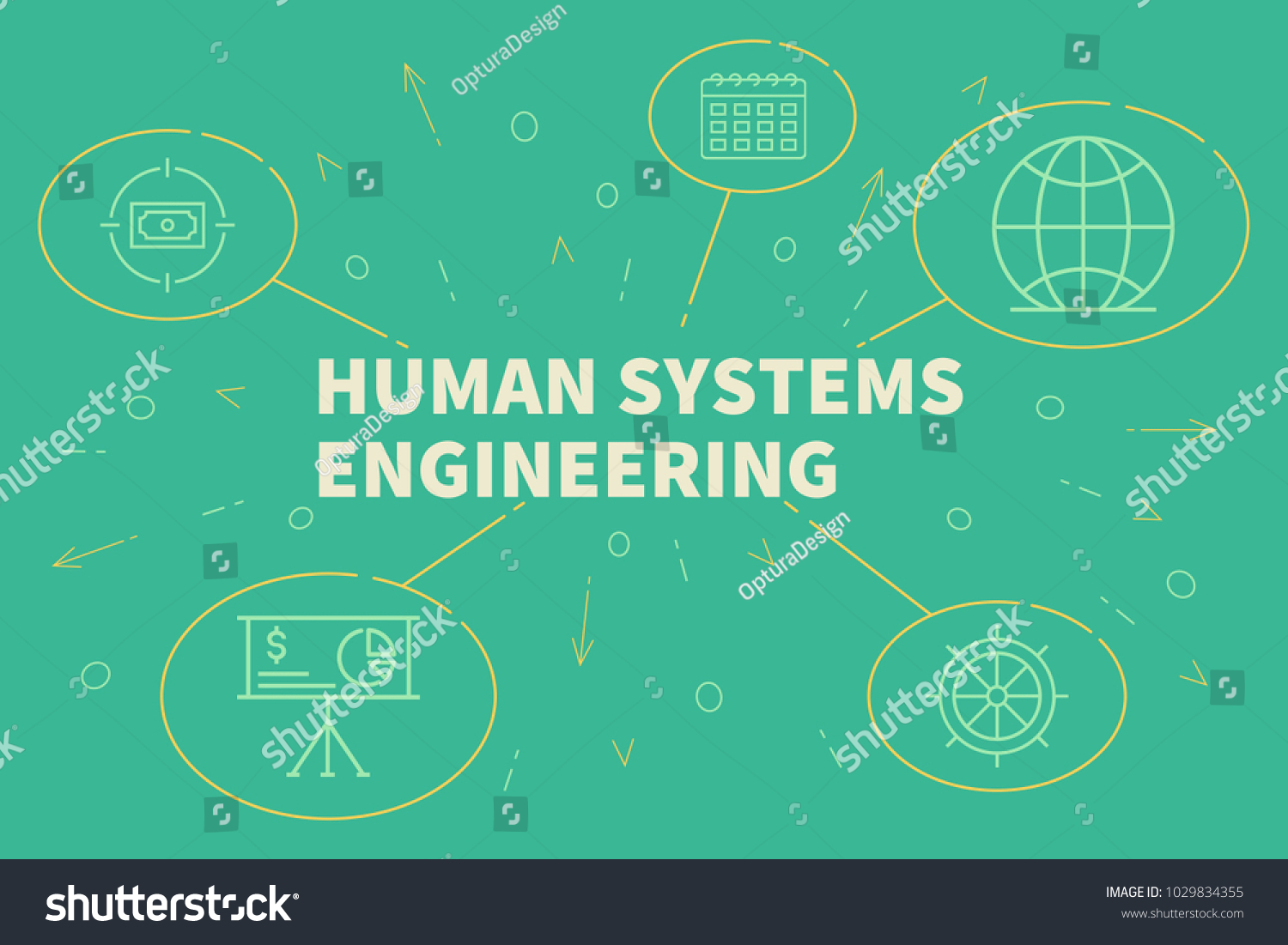 Business Illustration Showing Concept Human Systems Stock Illustration 1029834355