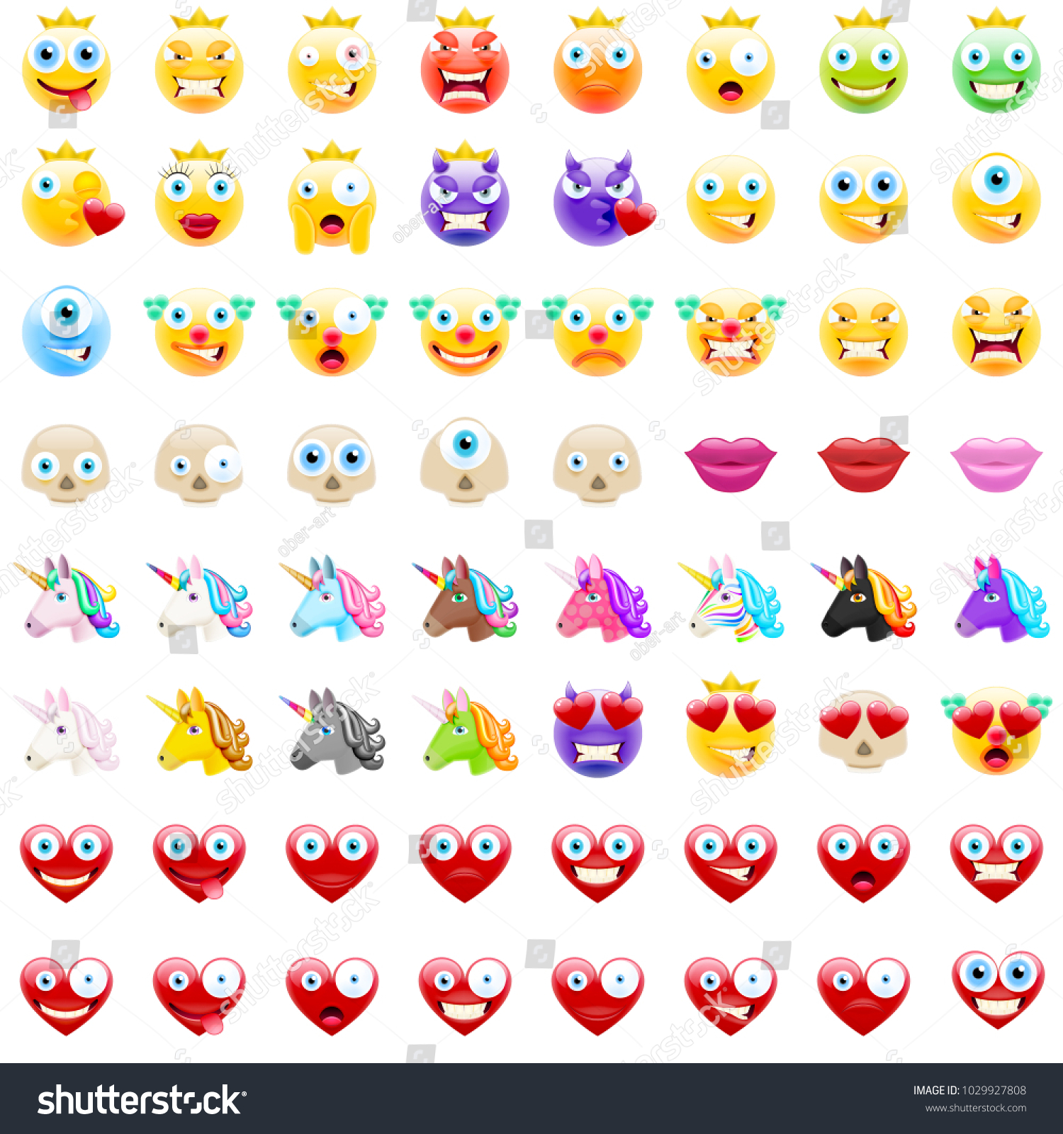 Ultimate set modern emojis emoticons realistic stock vector ultimate set of modern emojis emoticons realistic vector illustration symbols variety of emotions biocorpaavc Gallery