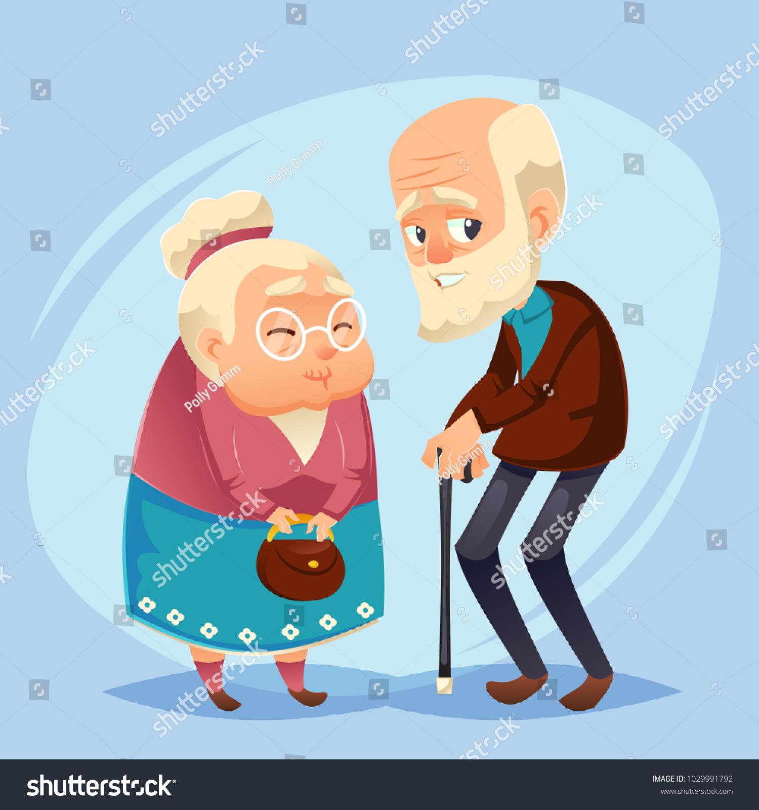 Wishes to Grandpa Happy Elderly Man 50