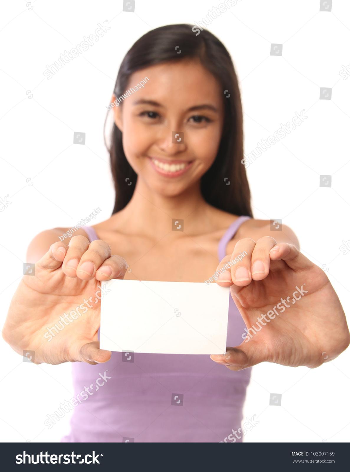 Asian Calling Card 98