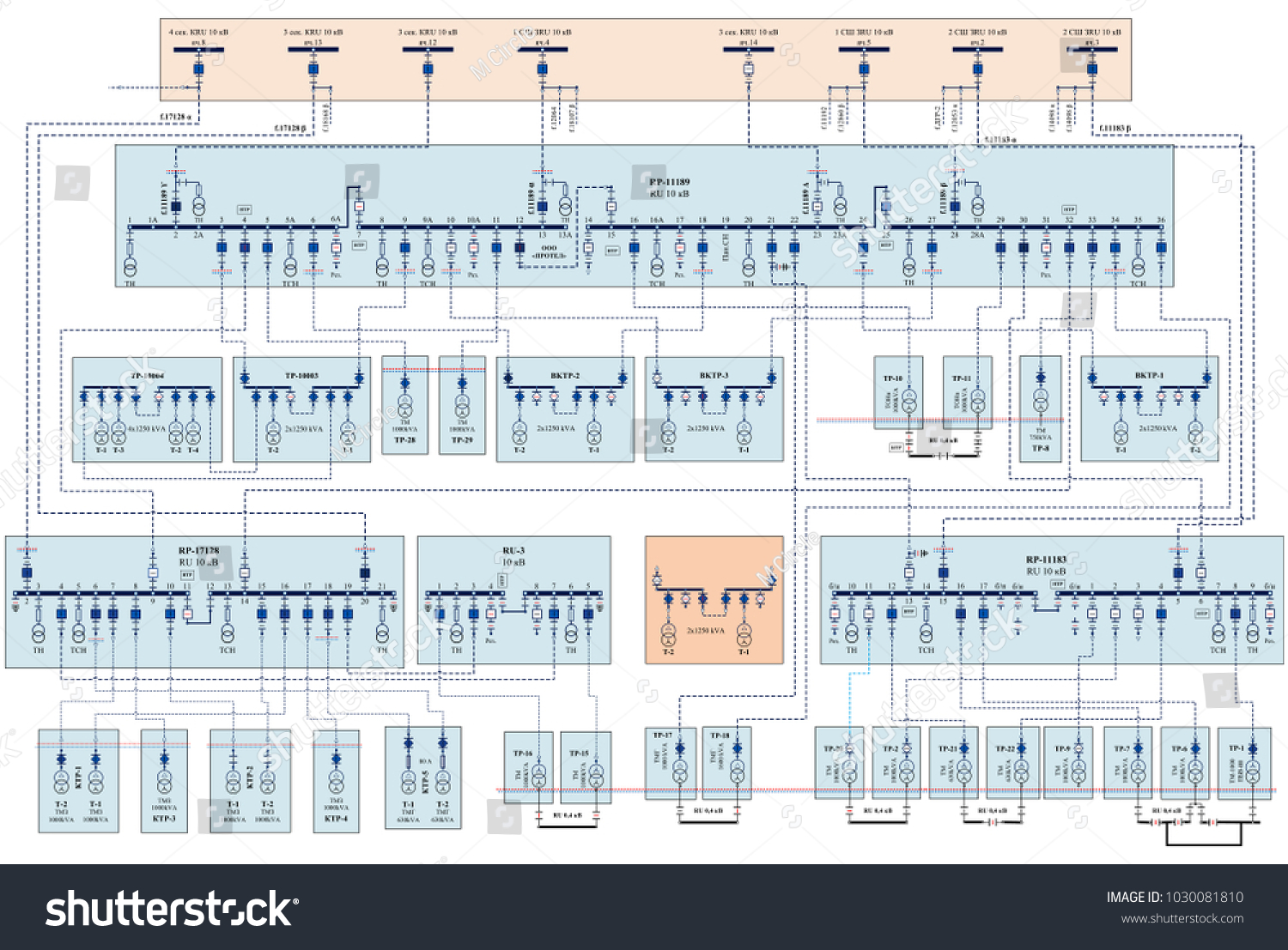 Electric Wiring Diagram Power Transformers Stock Illustration Diagrams Pictures On Understanding Transformer For
