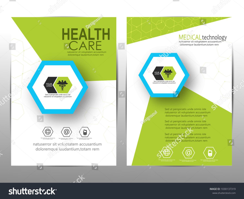 Medical Brochure Templates Stock Vector Royalty Free 1030137319