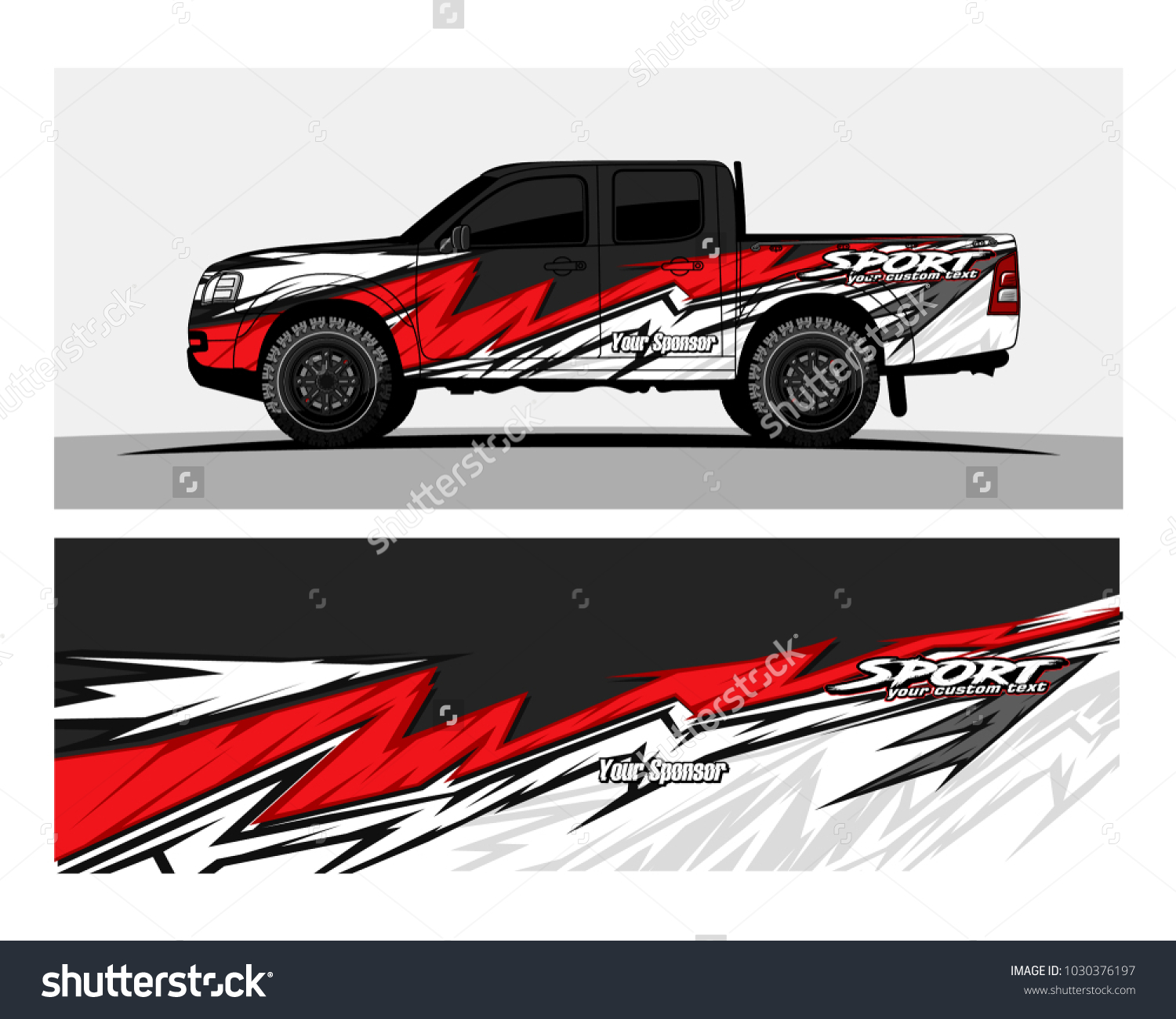 Abstract racing graphic kit background for truck car and vehicles ez canvas