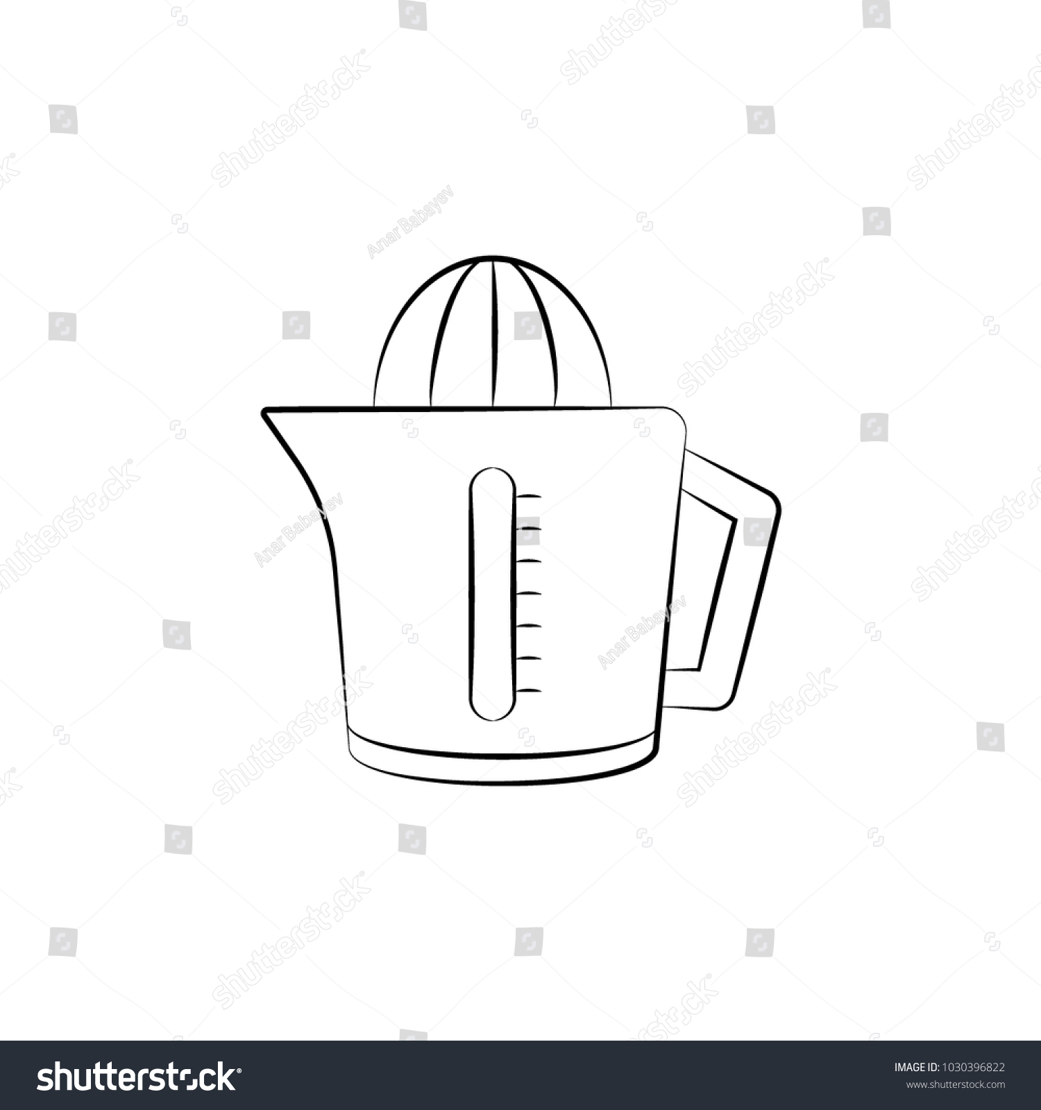 Juicer Icon Element Electrical Devices Icon Stock Vector Hd Royalty