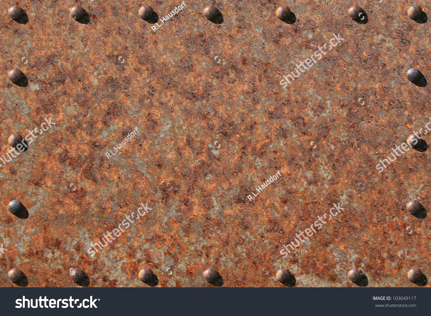Rusted Metal Plates Texture Heavily Rusted Metal P...