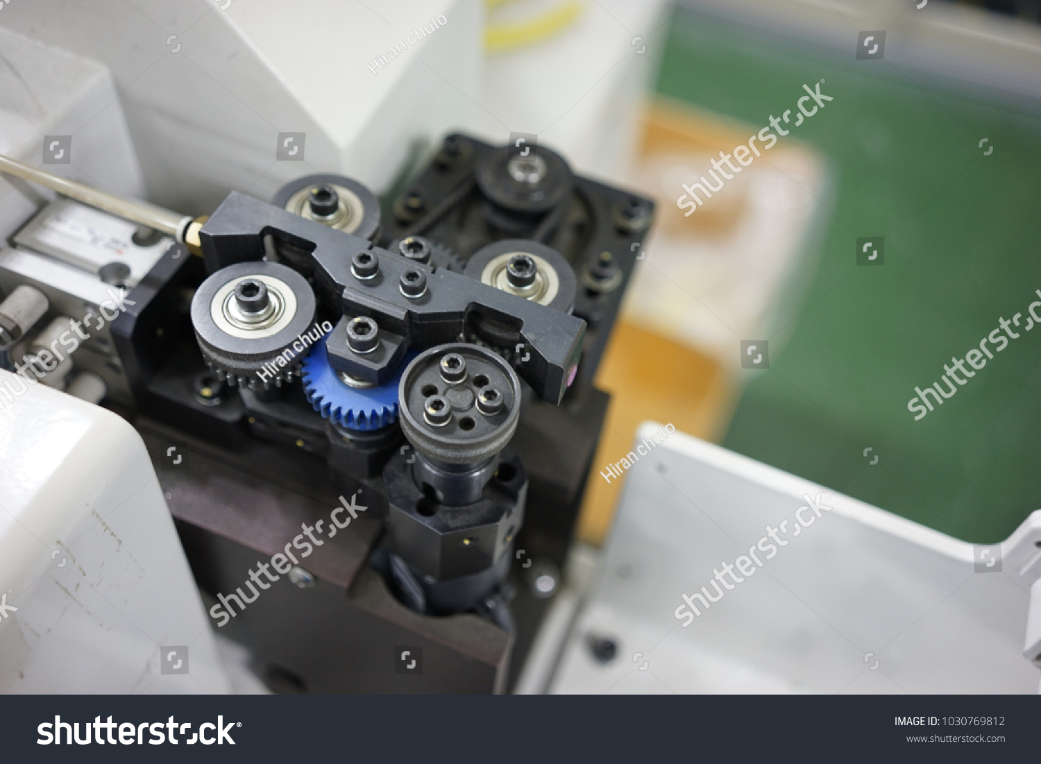 Wire Feed Control Unit Wire Harness Stock Photo (Royalty Free ...