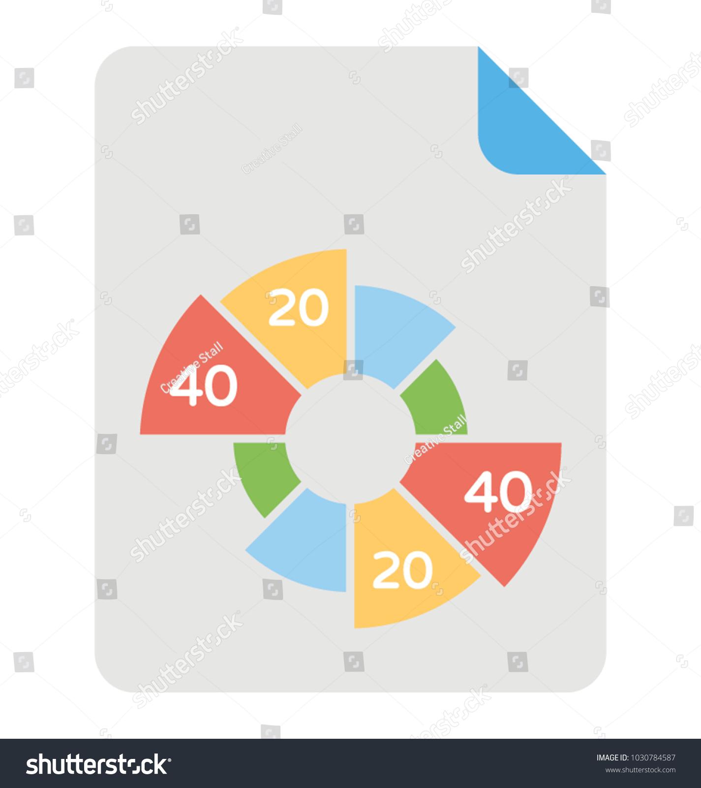 Statistic data analysis via pie chart stock vector 1030784587 statistic data analysis via pie chart geenschuldenfo Choice Image