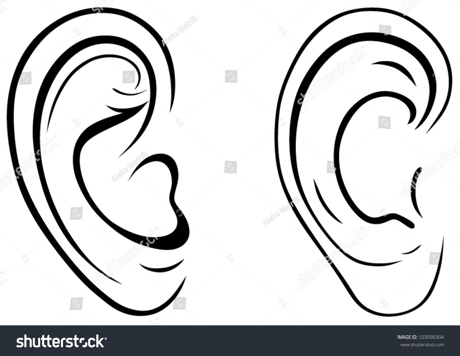 It's just a photo of Mesmerizing Ear Drawing Simple