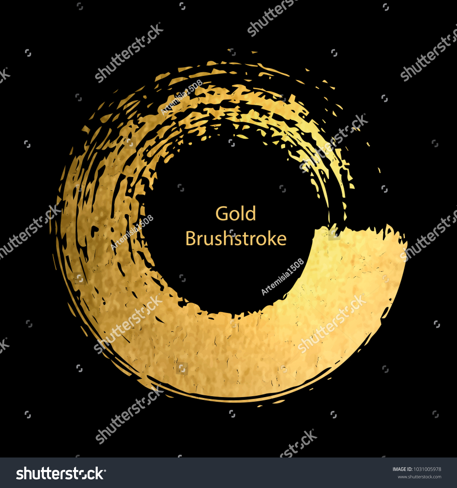 Gold round design templates poster brochure stock vector hd royalty gold round design templates for for poster brochure invitation cover book catalog stopboris Images