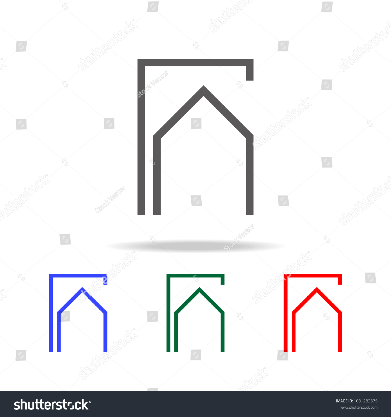Electronic Circuit Symbol Icon Elements Multi Stock Vector Royalty Symbols Photo In Colored Icons For Mobile Concept And Web Apps