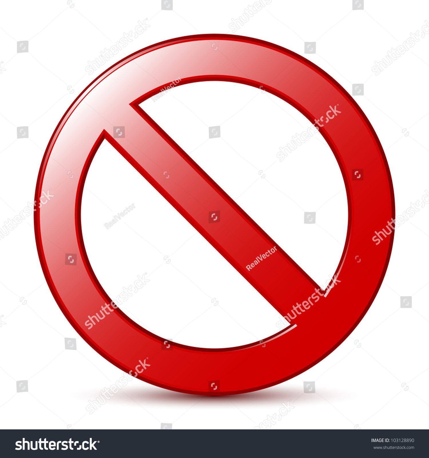 No Sign. Vector - 103128890 : Shutterstock