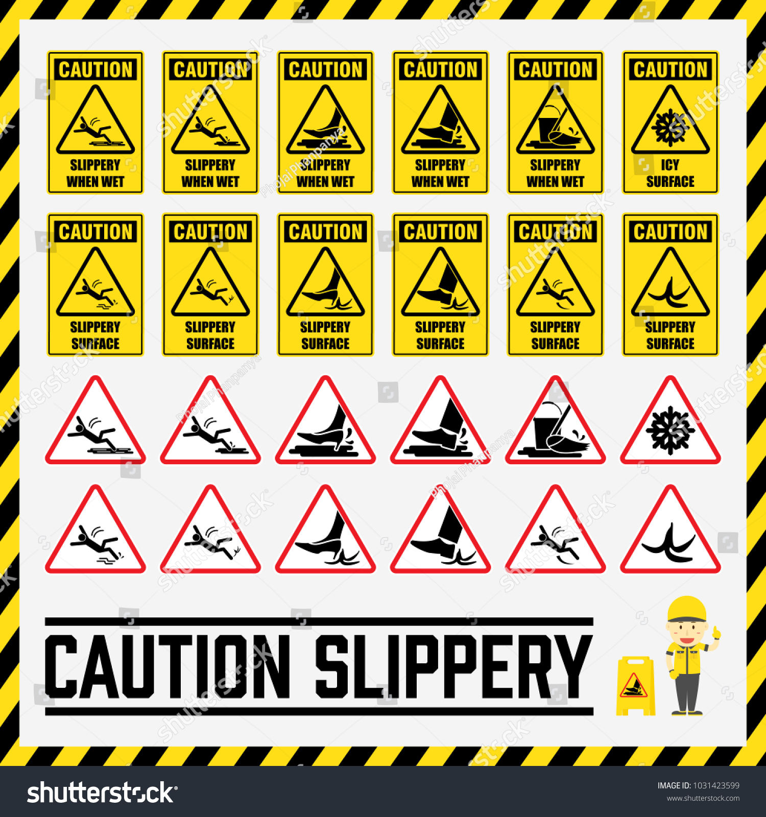 Workplace safety signs and symbols gallery symbol and sign ideas set safety caution signs symbols slippery stock vector 1031423599 set of safety caution signs and symbols biocorpaavc