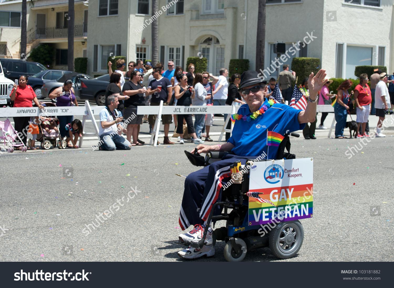 Gays in wheelchair