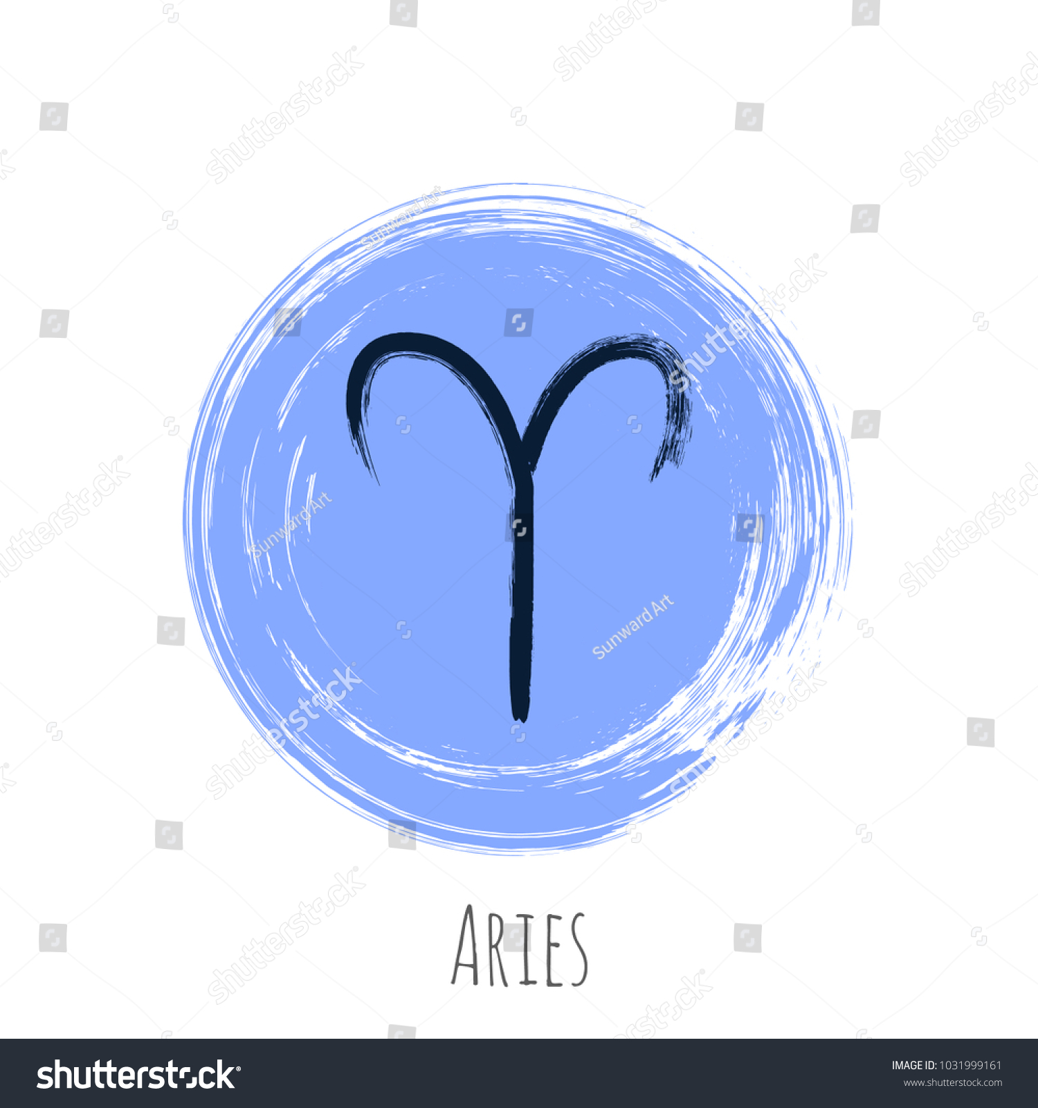Round aries zodiac symbol vector hand stock vector 1031999161 round aries zodiac symbol vector hand painted horoscope sign circle astrological icon isolated biocorpaavc Gallery