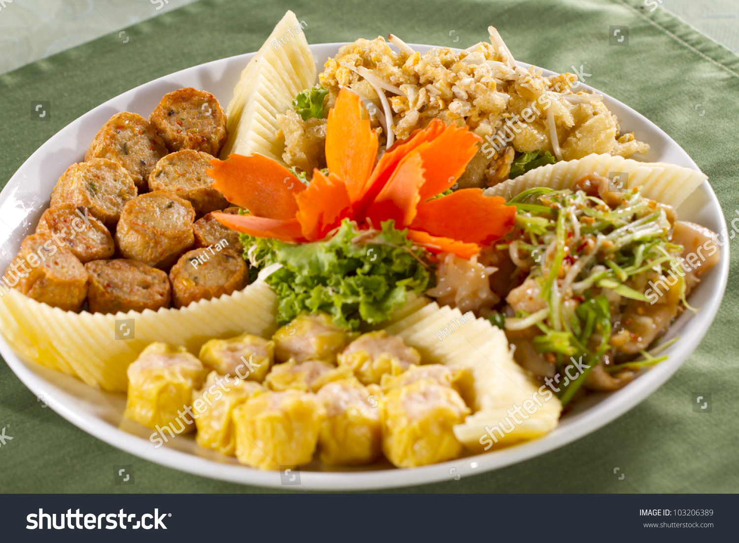 Chinese fried appetizer chinese style fried stock photo for Appetizer chinese cuisine