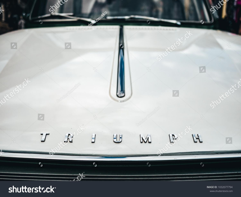 London UK 22042017 Emblem Vintage Car Stock Photo (Download Now ...