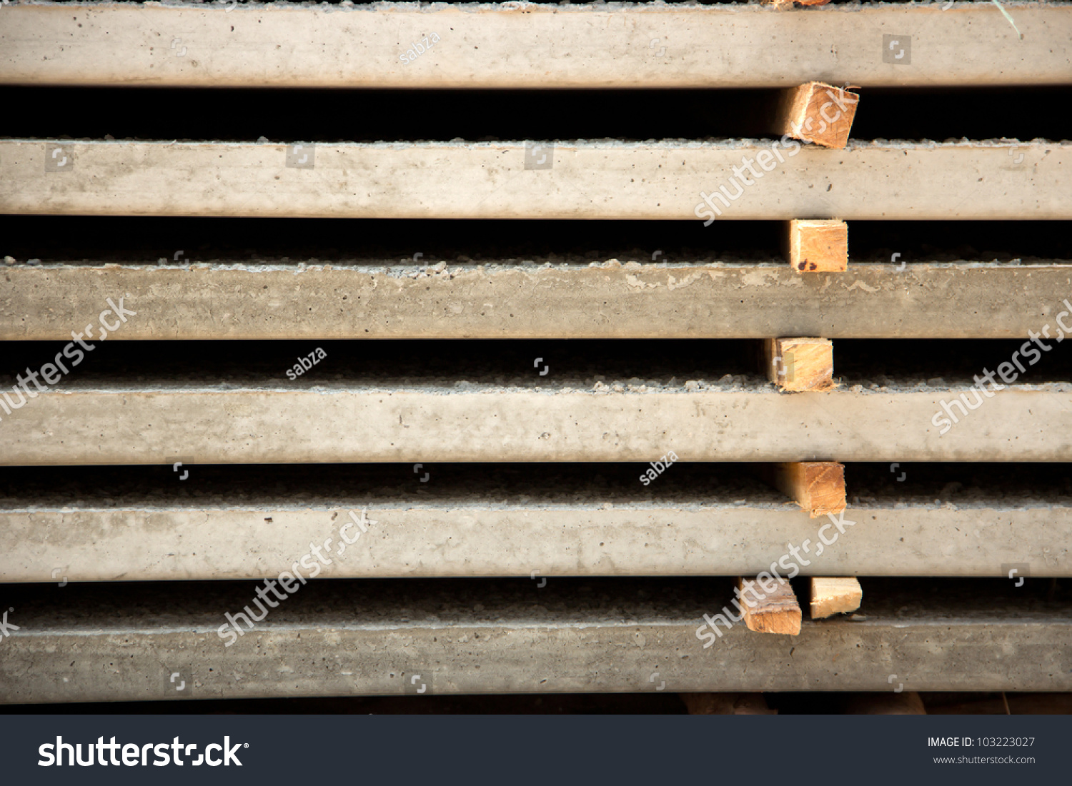 Ready Made Concrete : Ready made concrete slab stock photo shutterstock
