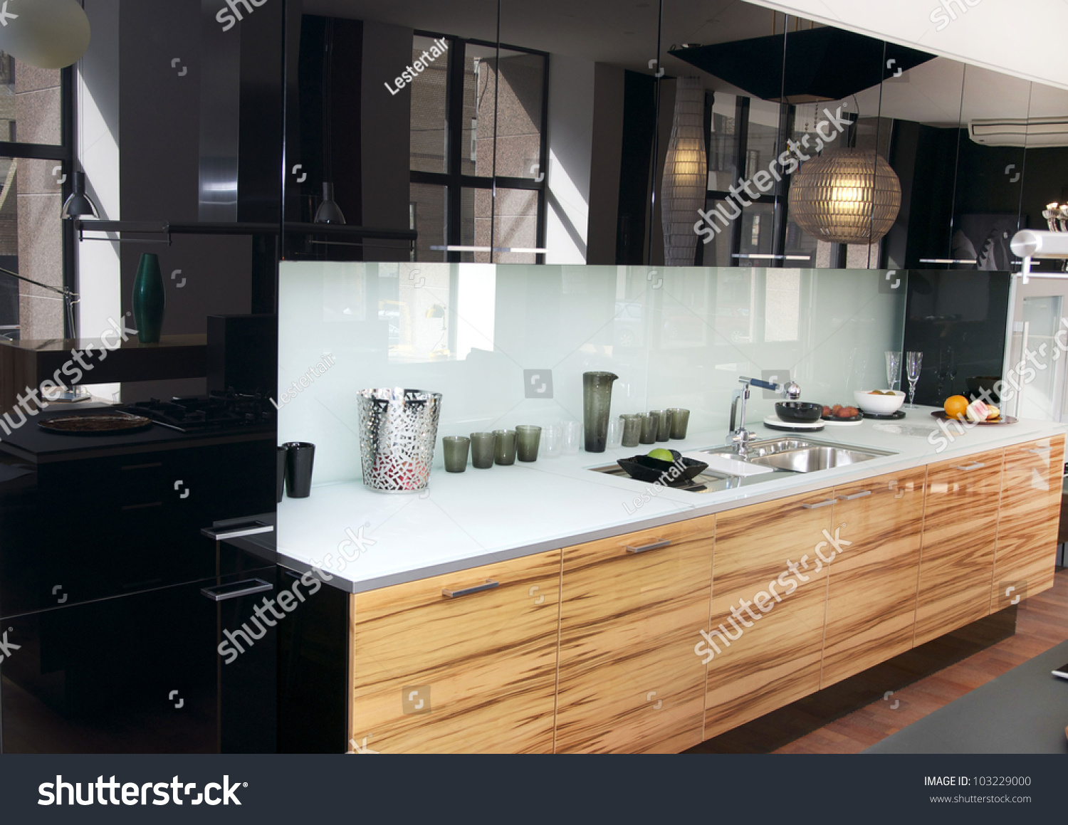 Stylish Kitchen Stylish Kitchen Marble Table Stock Photo 103229000 Shutterstock