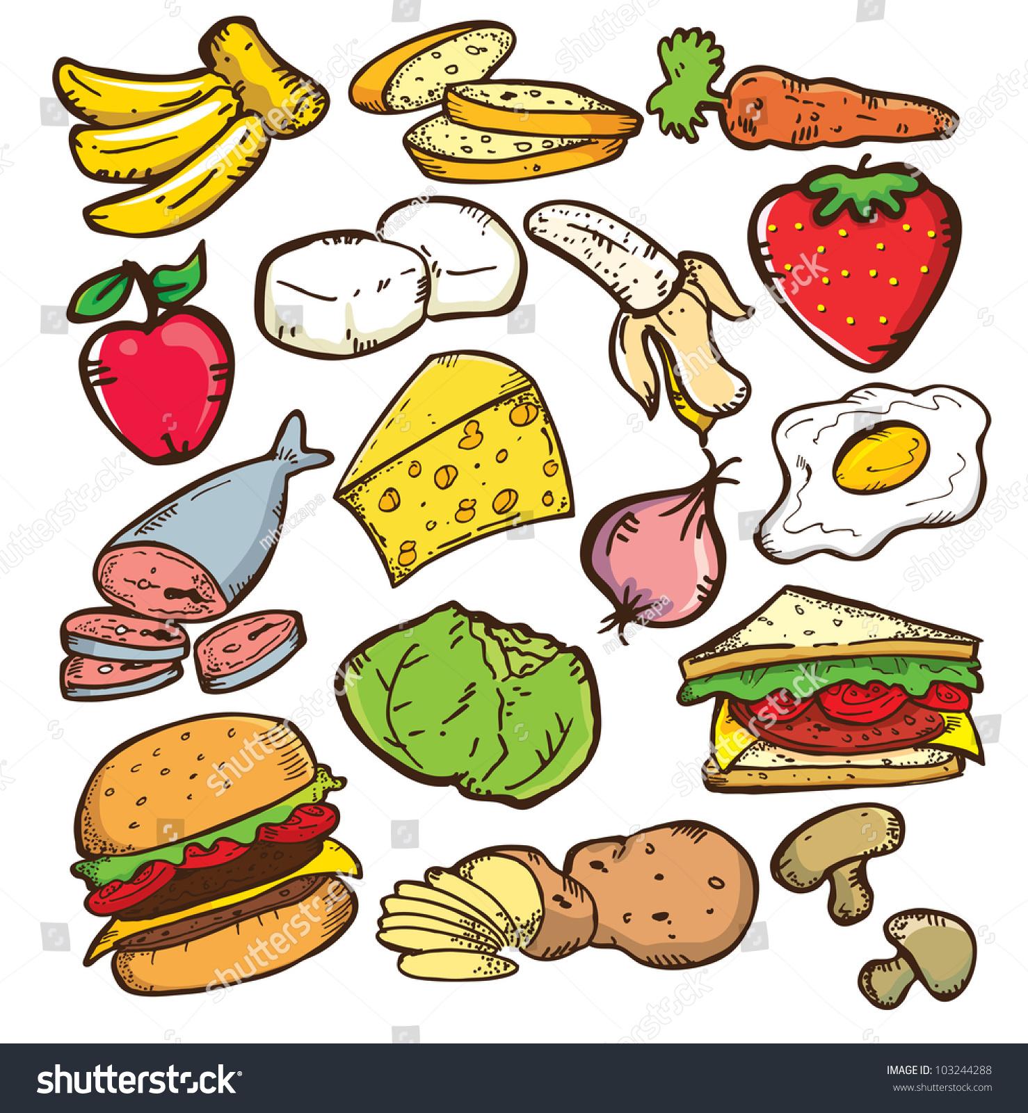 Хорошая еда рисунок