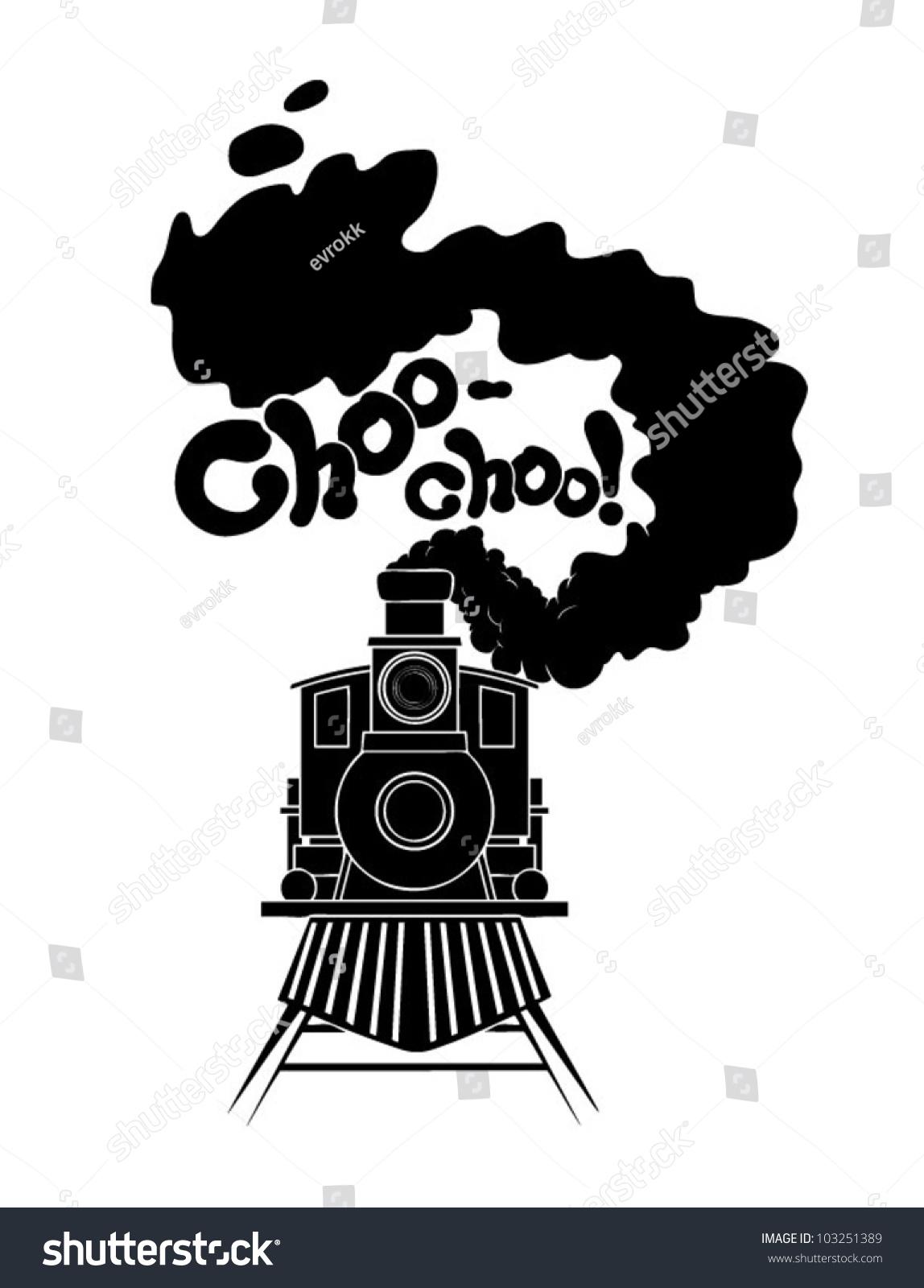 Choochoo Train Stock Vector 103251389 - Shutterstock