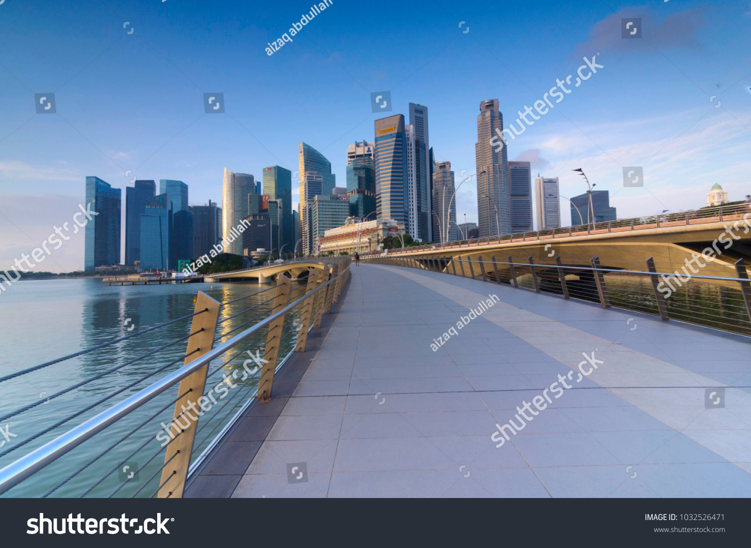 Singapore 2018 Mac 1 Central Business Stock Photo (Edit Now