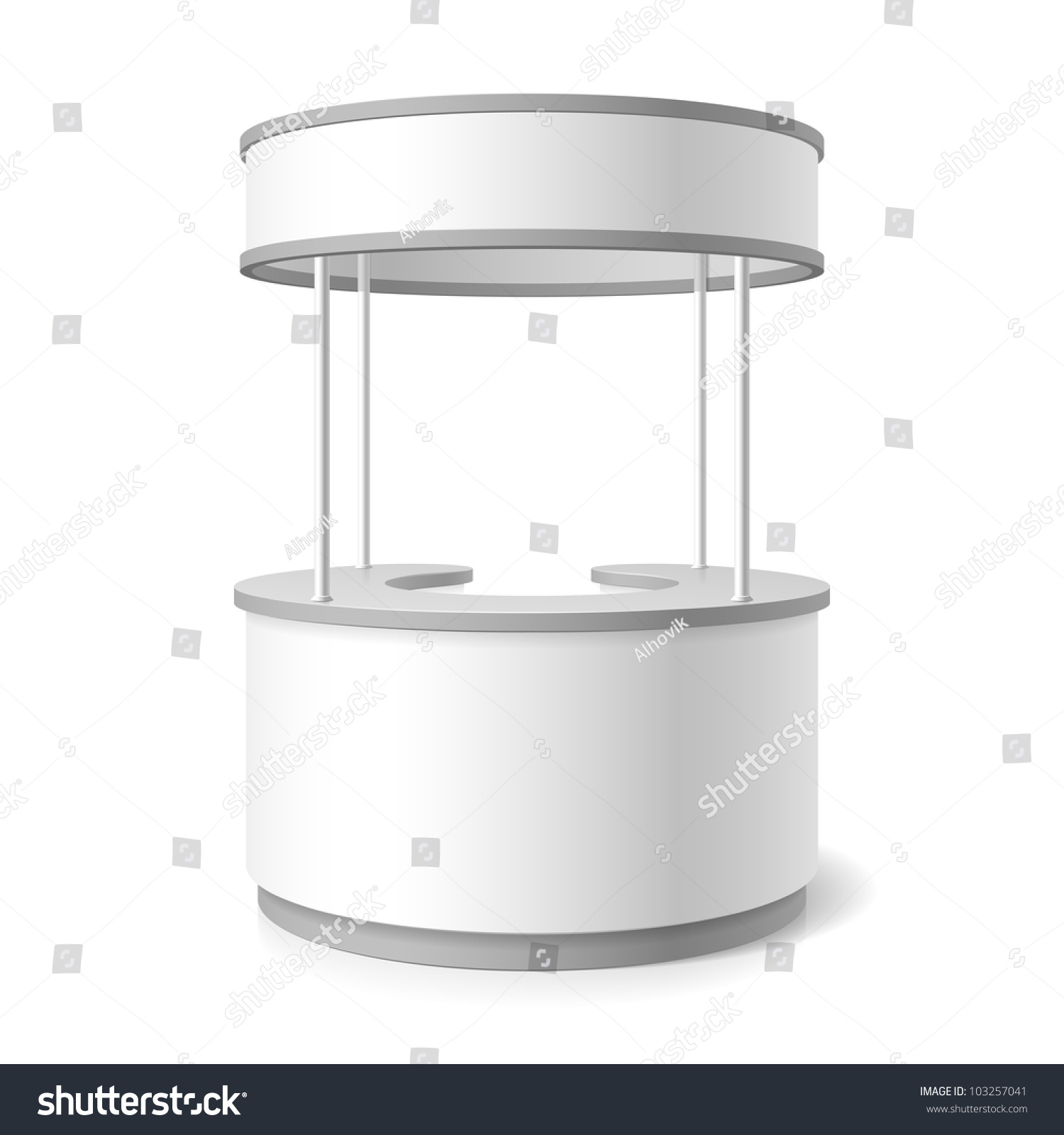 Trade Exhibition Stand Vector : Trade stand vector stock shutterstock