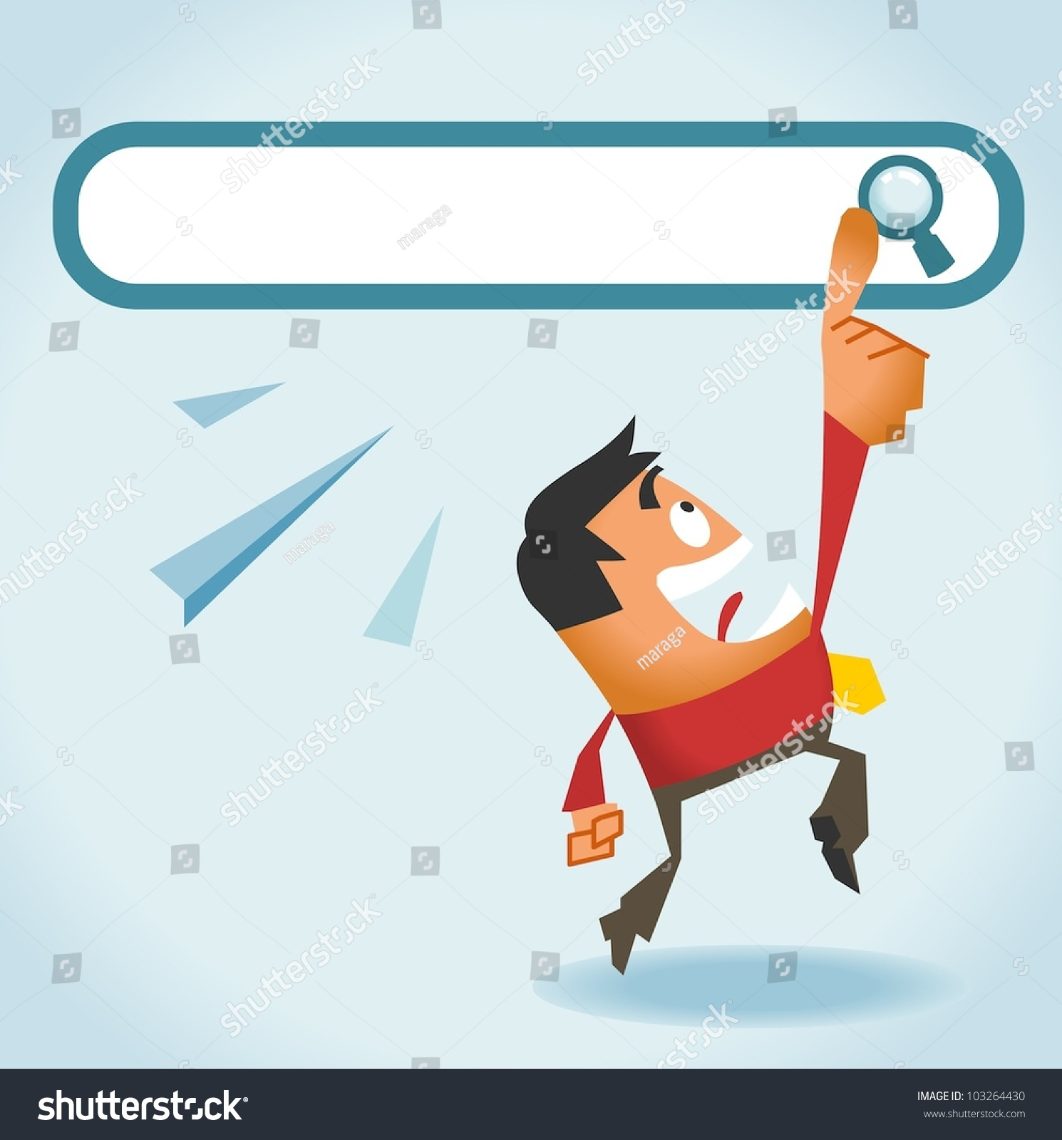 Search: Search Engine All We Need Vector Stock Vector 103264430