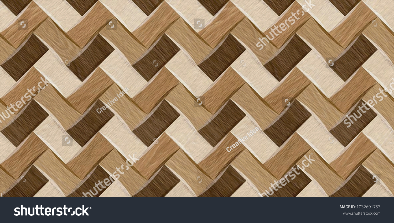 Oil Paint Wall Floor Tiles Pattern Stock Illustration 1032691753