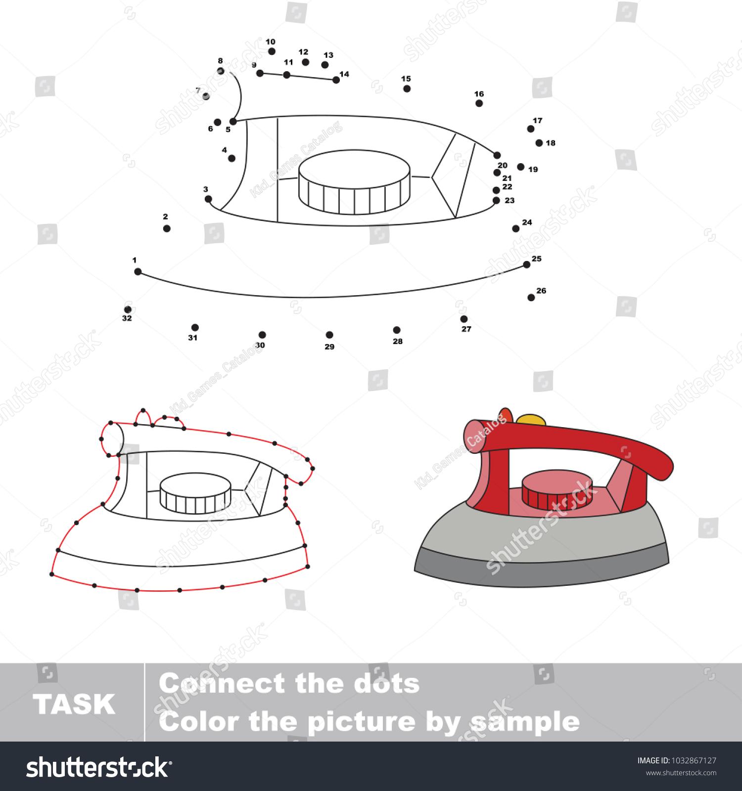 Iron dot diagram free download wiring diagrams iron dot dot educational game kids stock vector 1032867127 iron dot to dot educational game for kids at actinium dot diagram pooptronica Images