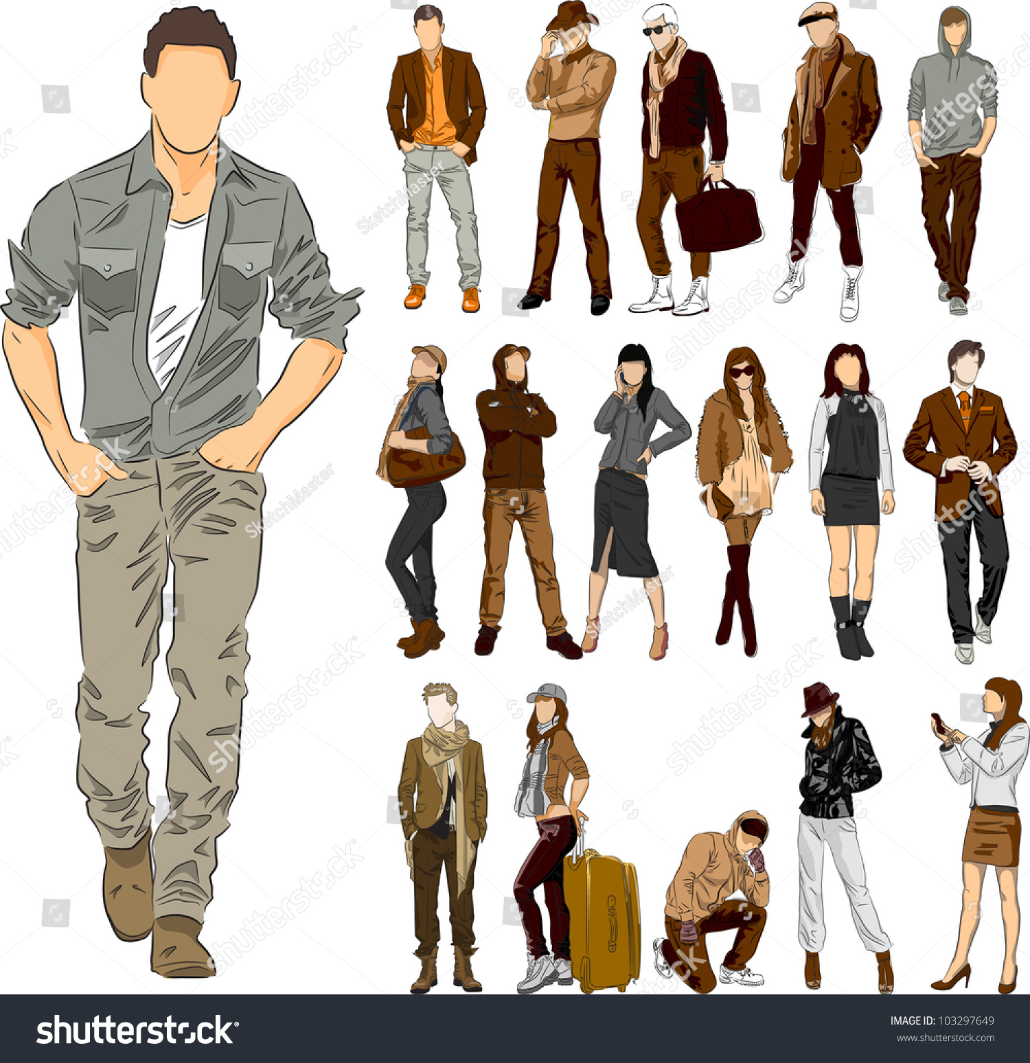 Men Fashion Clipart | www.imgkid.com - The Image Kid Has It!