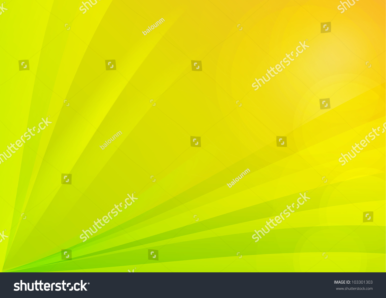 Abstract Green And Yellow Background Wallpaper Stock Photo ...