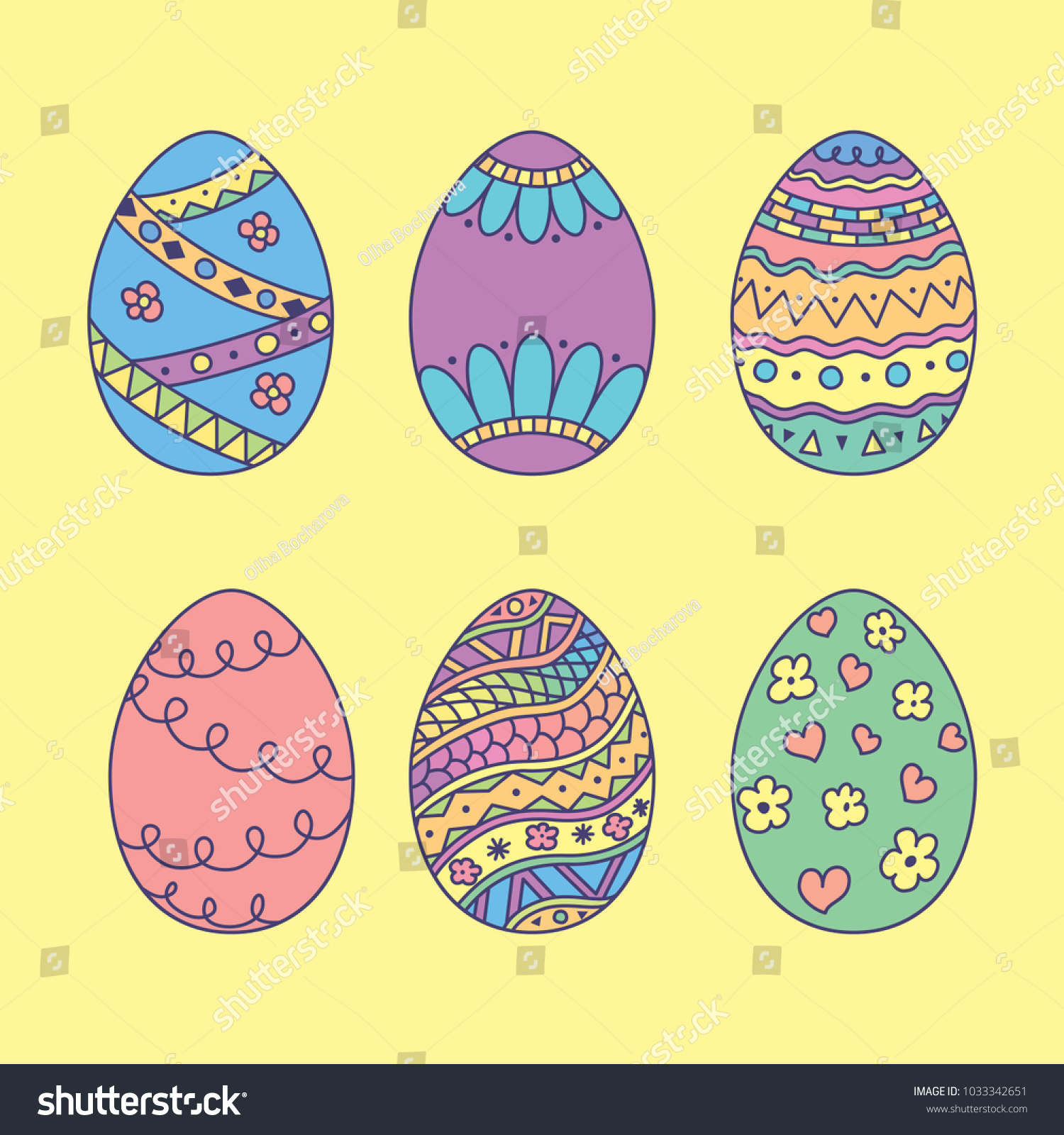 attractive plain easter egg coloring pages image collection