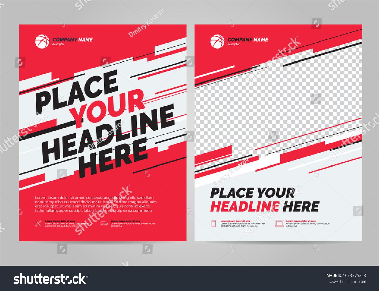 flyer design sports invitation template のベクター画像素材
