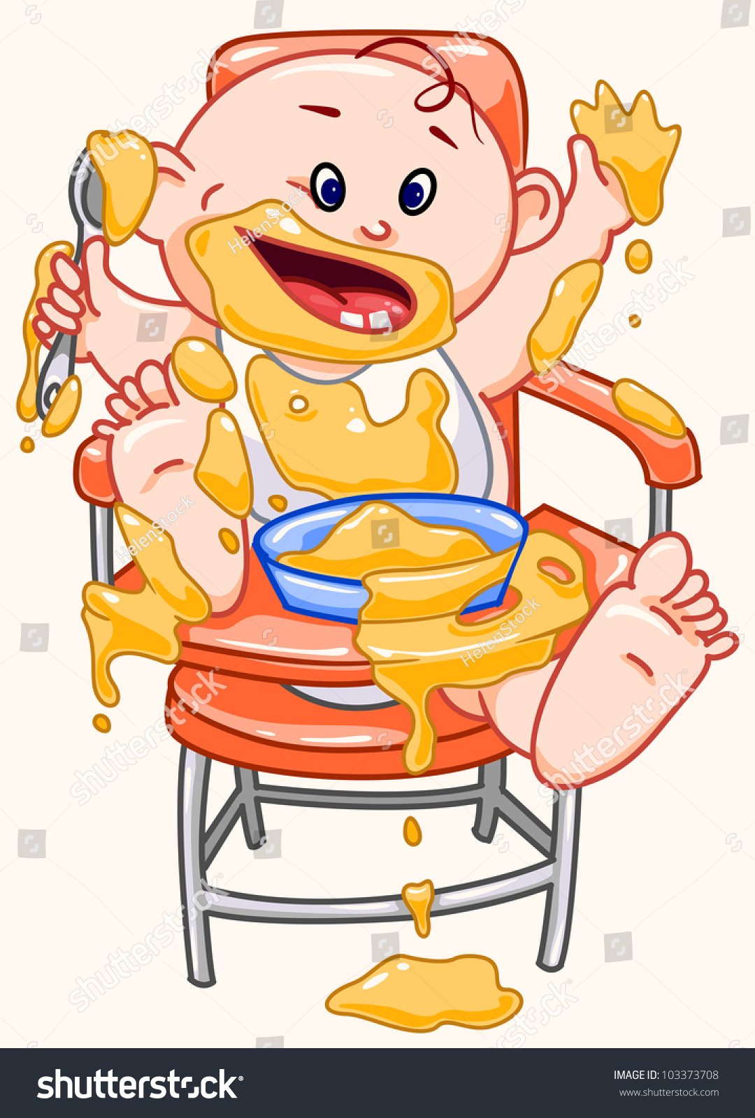 baby eating clipart - photo #10