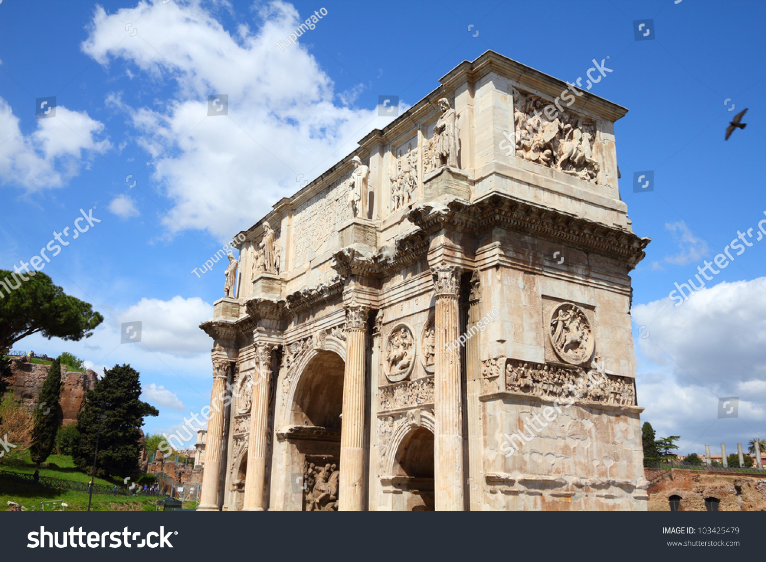 stock-photo-italy-rome-famous-triumphal-