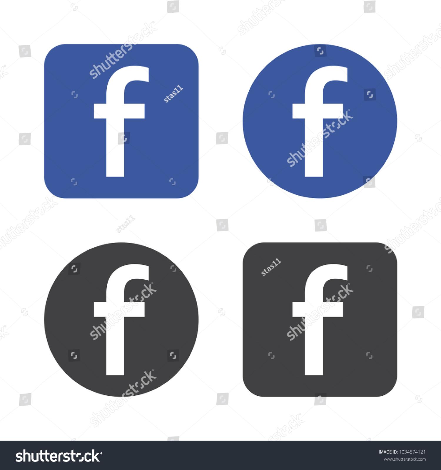 Vinnitsa ukraine march 01 2018 facebook stock vector 1034574121 vinnitsa ukraine march 01 2018 facebook logo vector illustration biocorpaavc