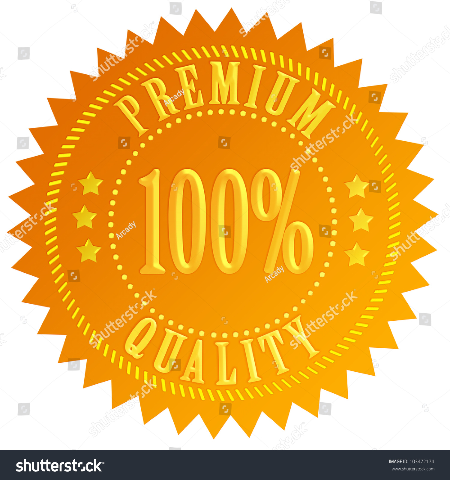 gold vector stock seal depositphotos quality illustration trusted arcady