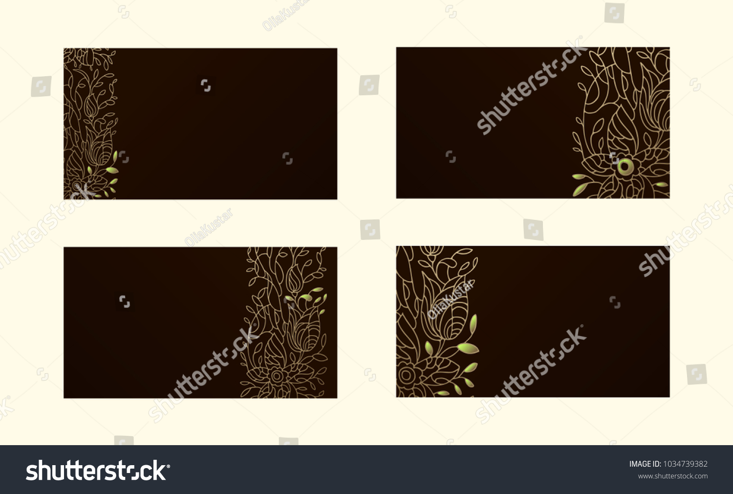 Backgrounds Business Cards Plastic Cards Thin Stock Vector ...