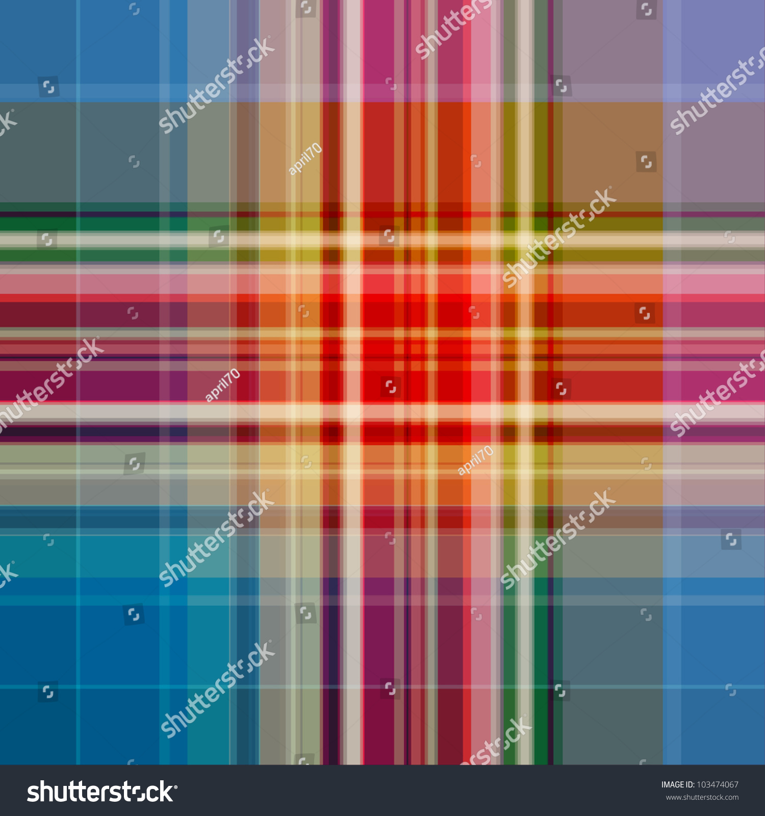 Blue and brown plaid background blue brown green red plaid