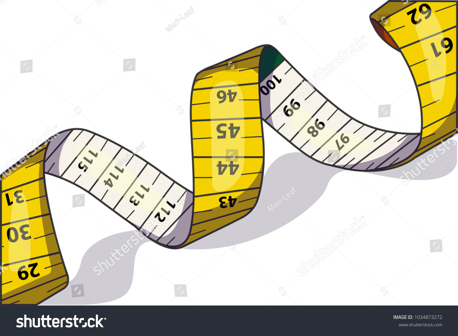 Astounding Vector Illustration Measure Tape Used Measure Stock Vektorgrafik Wiring Digital Resources Dimetprontobusorg