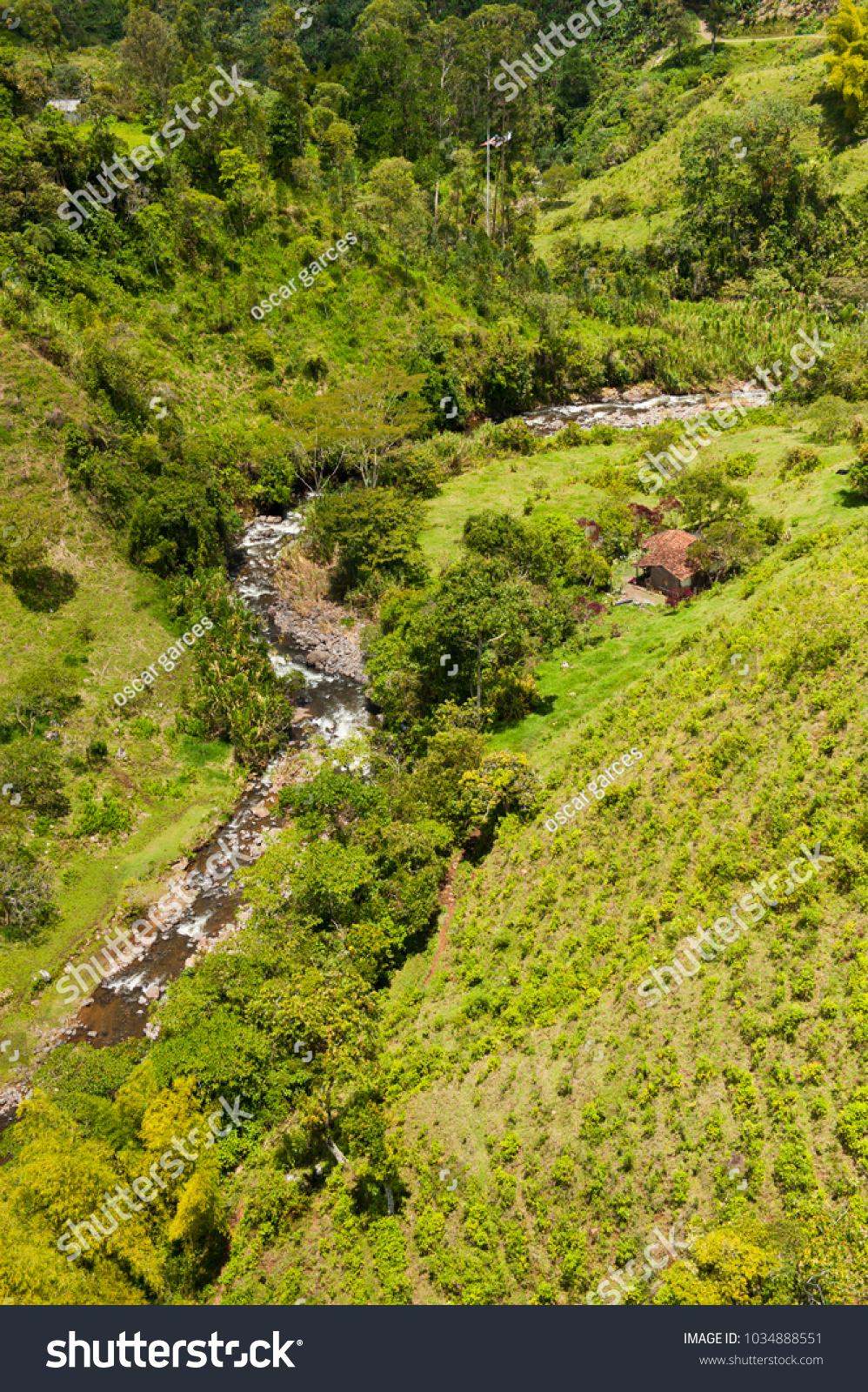 La Herrera Stream Jardin Antioquia Colombia Stock Photo Edit Now
