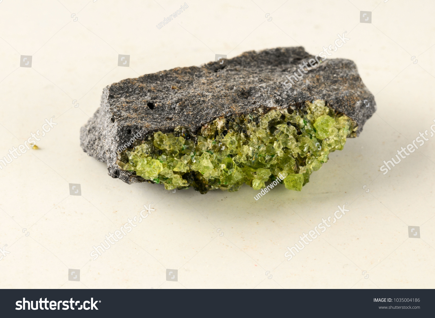 olivine isolated stock on photo beads white background gemstone