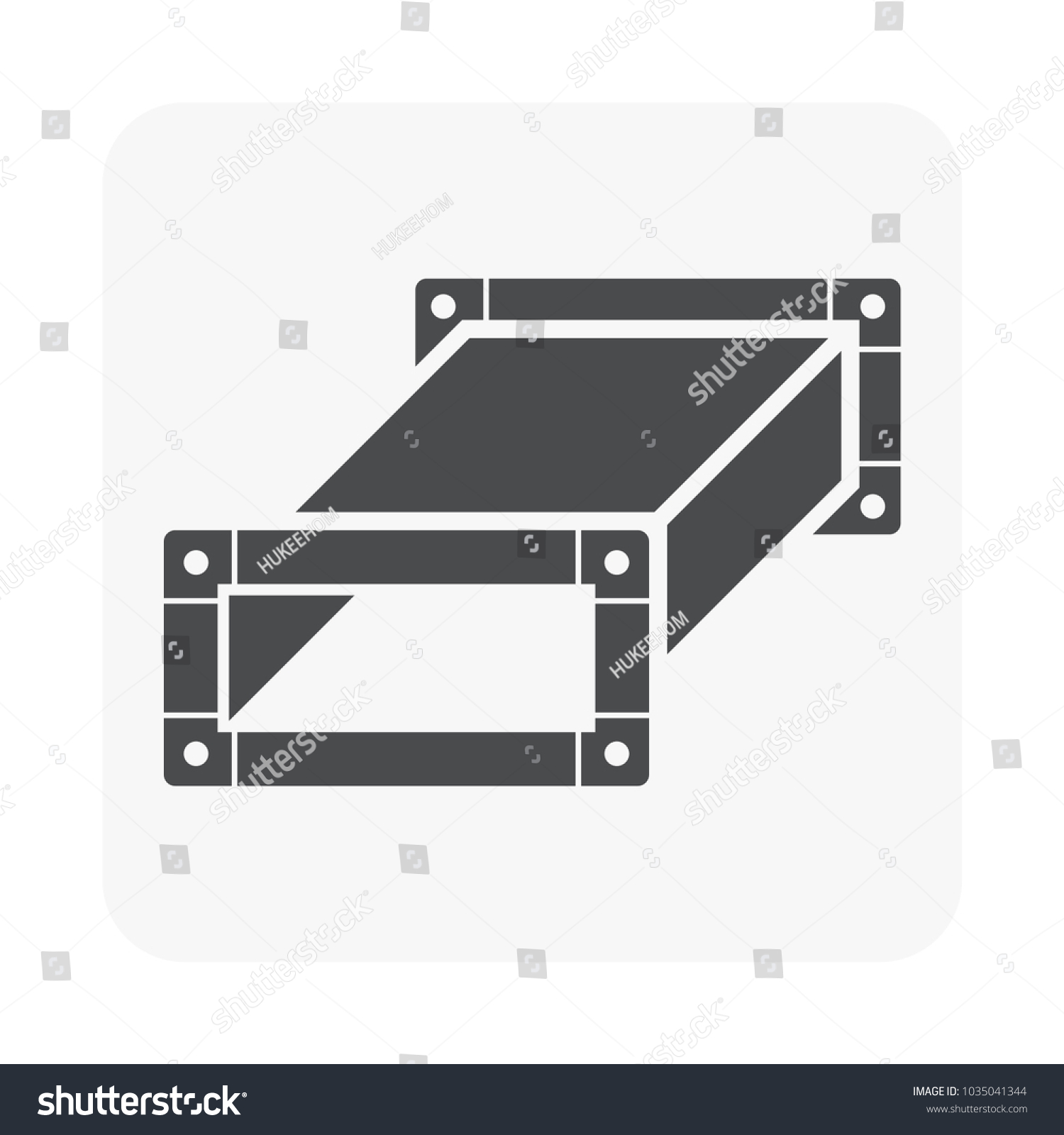 Air Duct Pipe Icon Hvac System Stock Vector Royalty Free Piping Drawing For