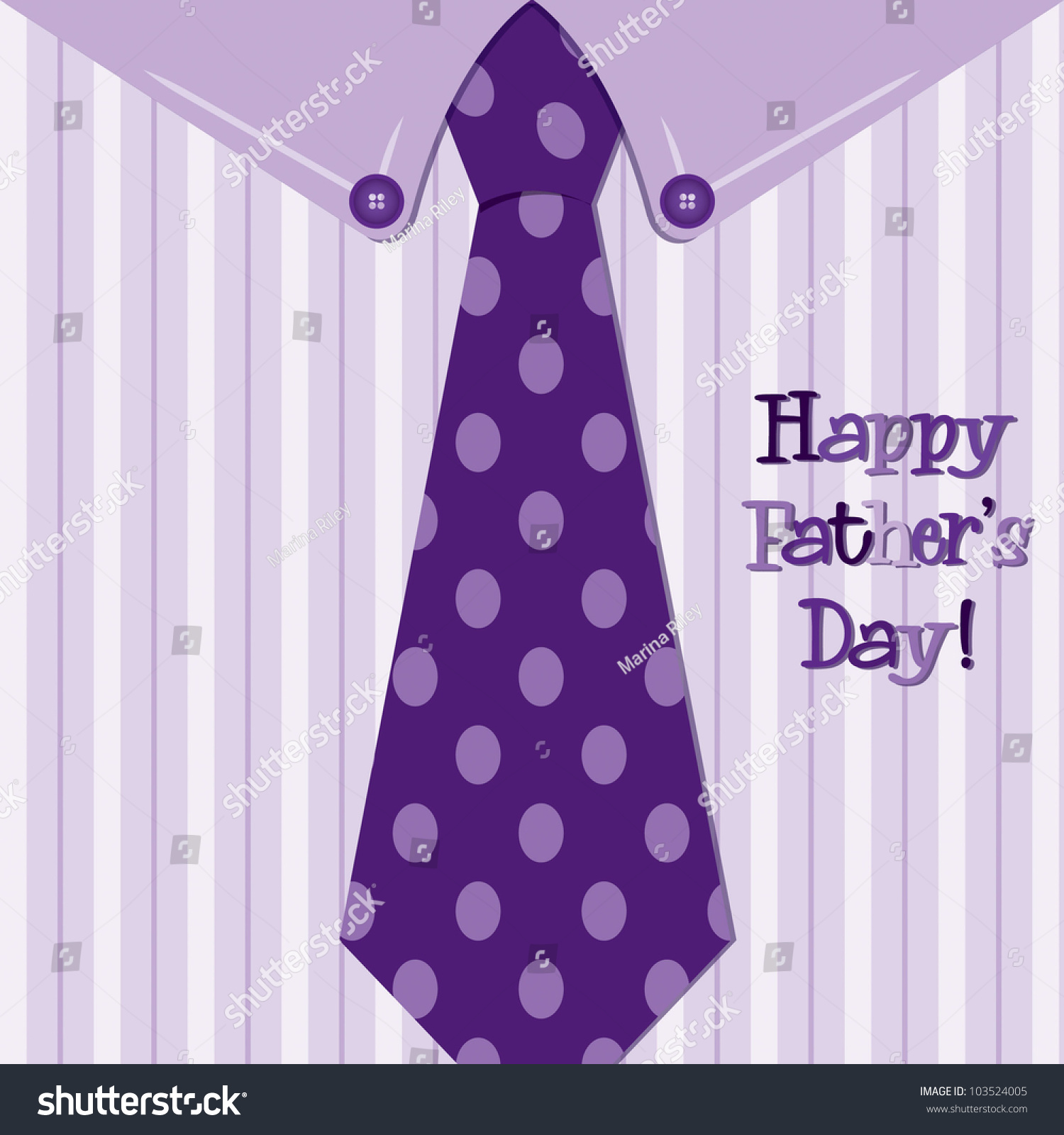Shirt design card - Bright Shirt And Tie Happy Father S Day Neck Tie Card In Vector