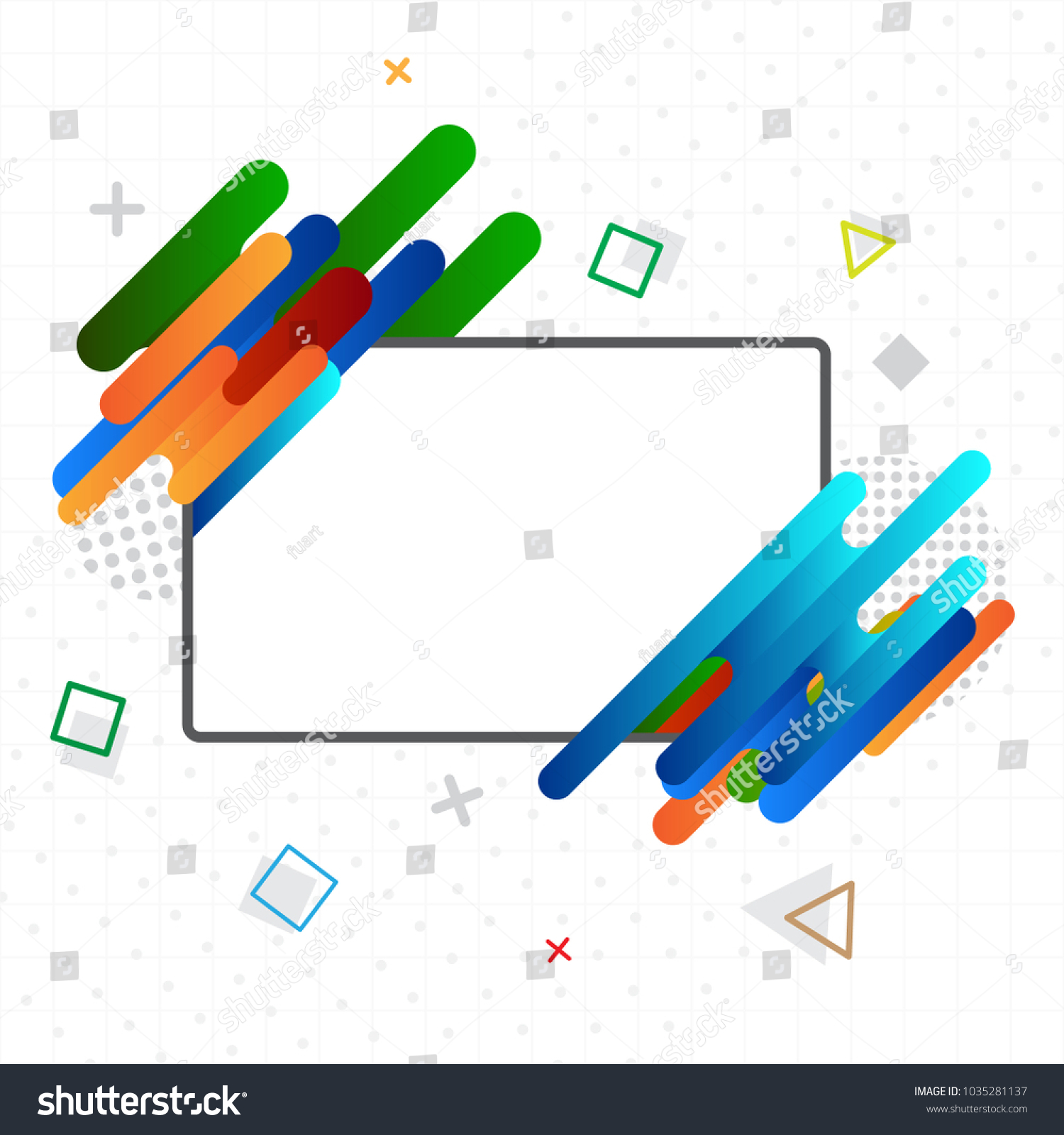 Greeting card memphis style use business stock vector 1035281137 greeting card with memphis style use for business banner or promotion sale kristyandbryce Image collections